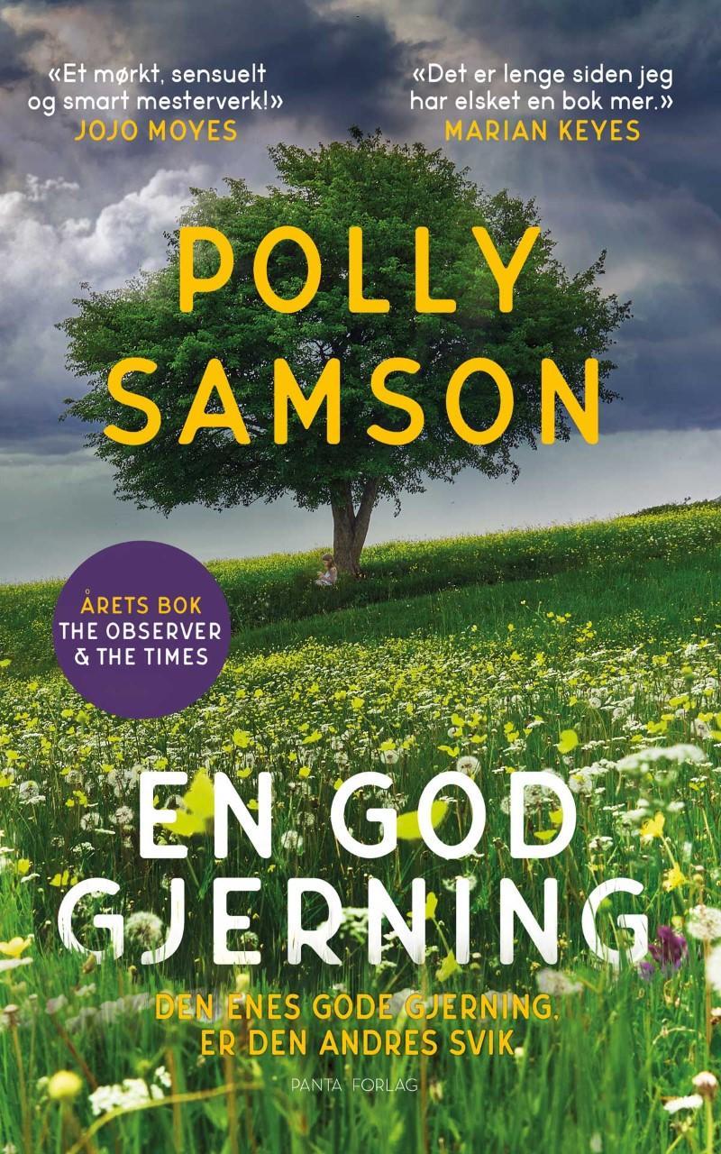 """""""En god gjerning - en roman"""" av Polly Samson"""