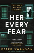 """Her every fear"" av Peter Swanson"