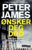 """""""Ønsker deg død"""" av Peter James"""