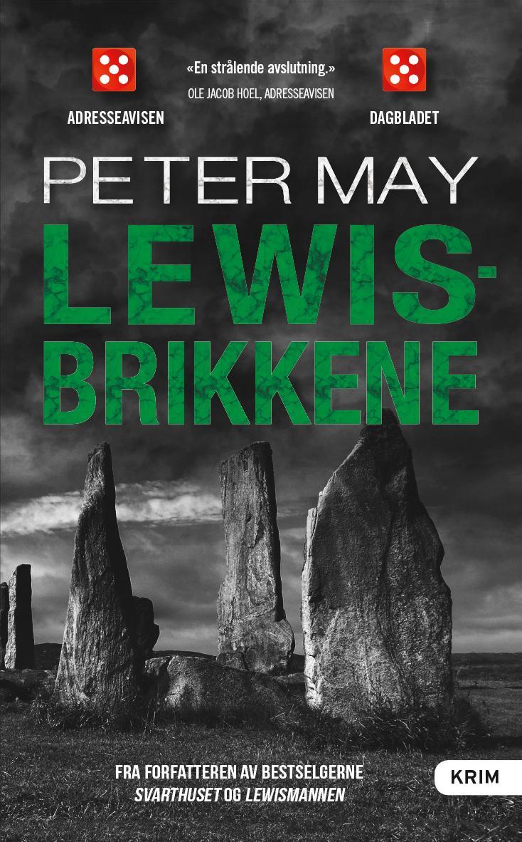 """""""Lewisbrikkene"""" av Peter May"""