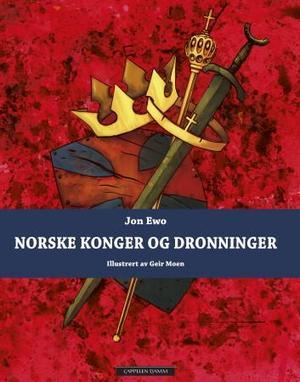 """""""Norske konger og dronninger"""" av Jon Ewo"""