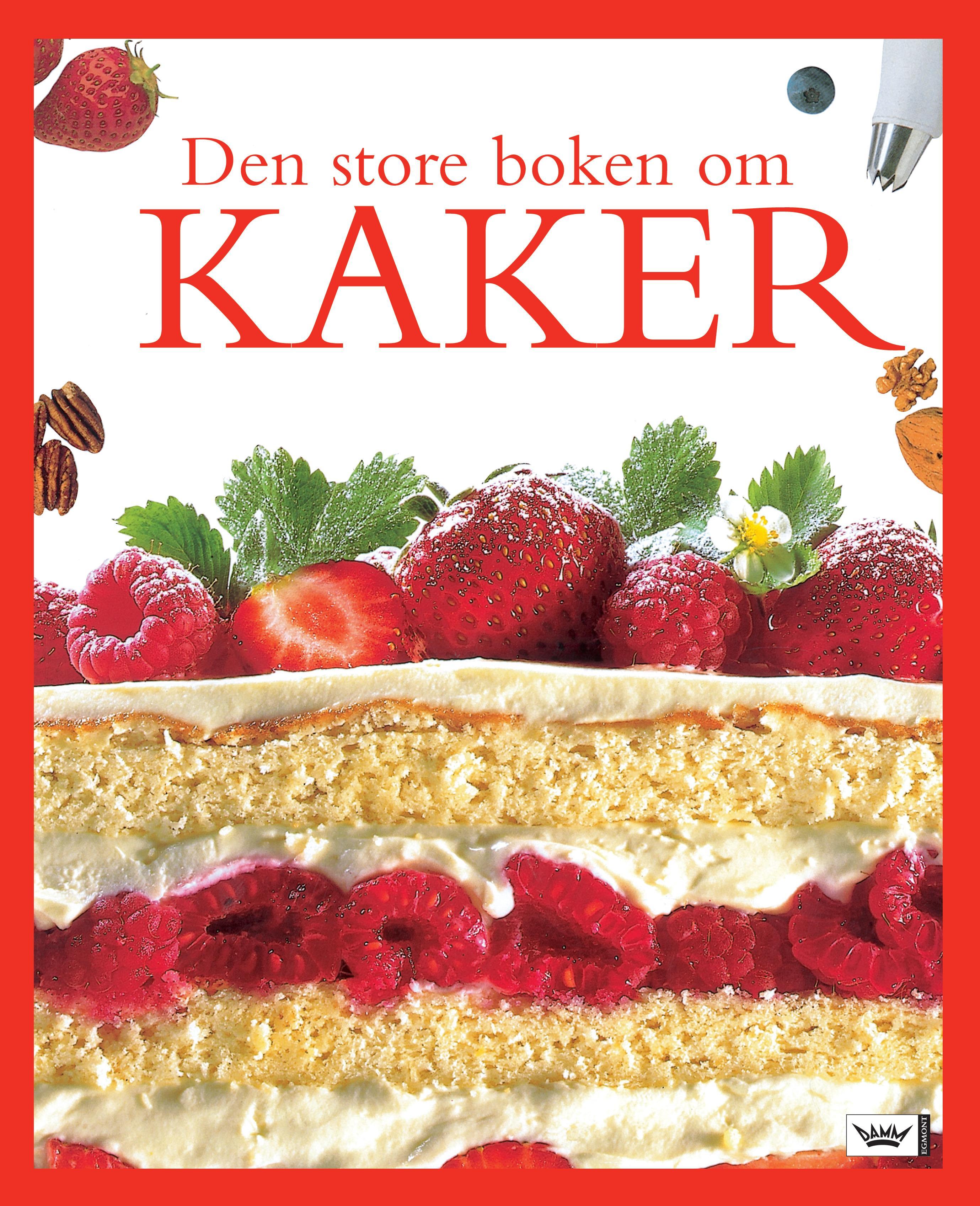 """""""Den store boken om kaker"""" av Barbara Maher"""