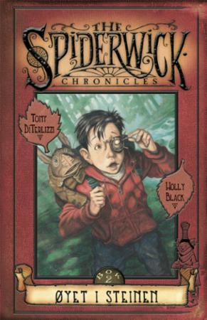"""""""Øyet i steinen - bok 2 av 5"""" av Tony DiTerlizzi"""