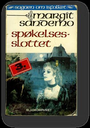 """""""Spøkelses-slottet"""" av Margit Sandemo"""