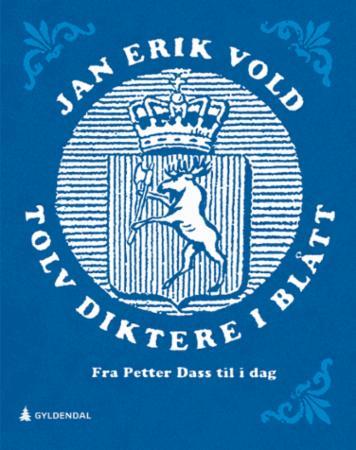 """""""Tolv diktere i blått - fra Petter Dass til i dag"""" av Jan Erik Vold"""