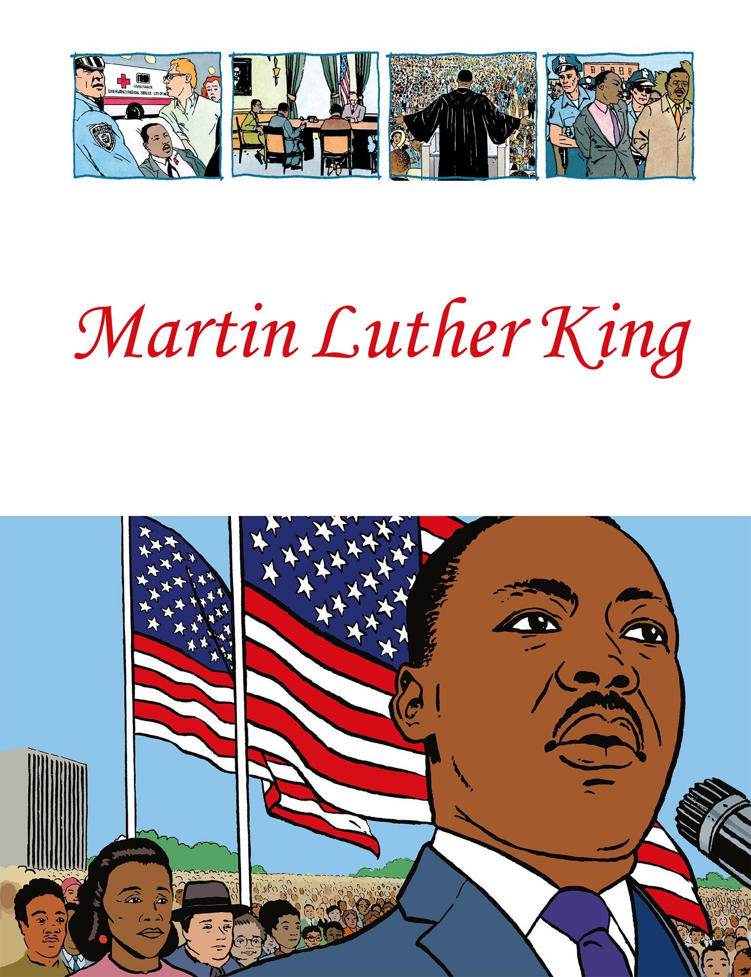 """""""Martin Luther King"""" av Benoît Marchon"""