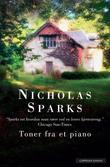 """""""Toner fra et piano"""" av Nicholas Sparks"""
