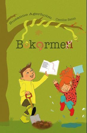 """Bokormen"" av Susanne Agerholm"