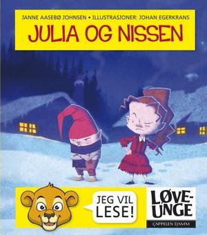 """""""Julia og nissen"""" av Janne Aasebø Johnsen"""
