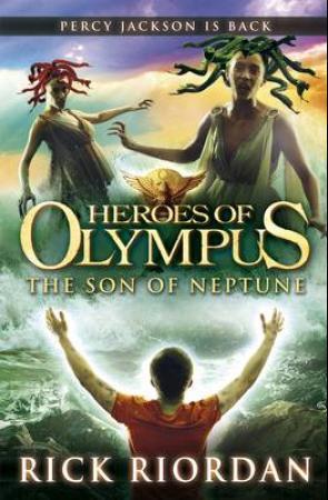 """""""The son of Neptune"""" av Rick Riordan"""