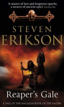 """""""Reaper's gale - Malazan empire 7"""" av Steven Erikson"""