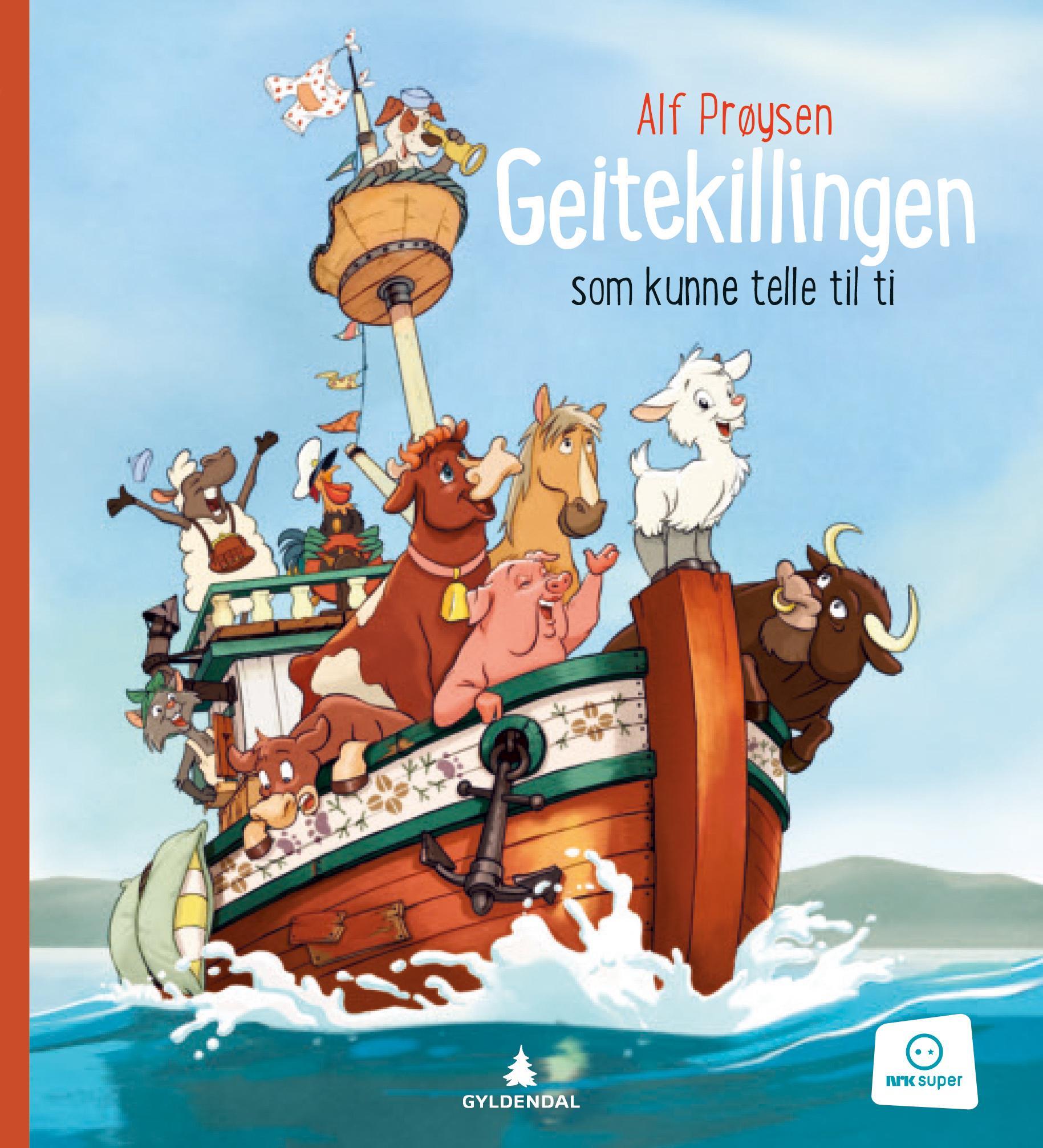 """""""Geitekillingen som kunne telle til ti"""" av Alf Prøysen"""