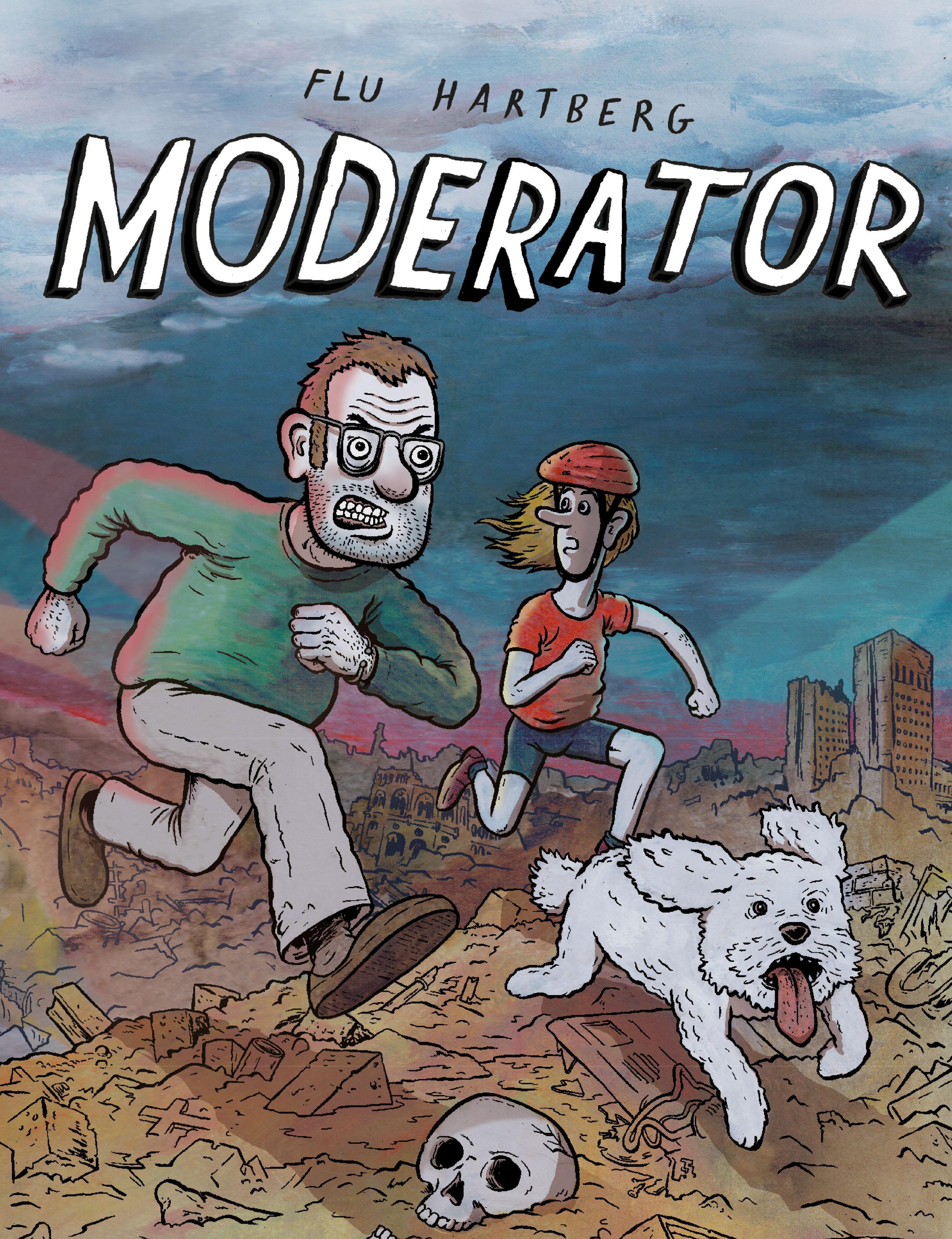 """""""Moderator"""" av Flu Hartberg"""