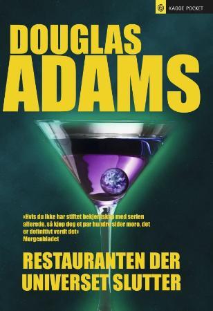 """""""Restauranten der universet slutter"""" av Douglas Adams"""