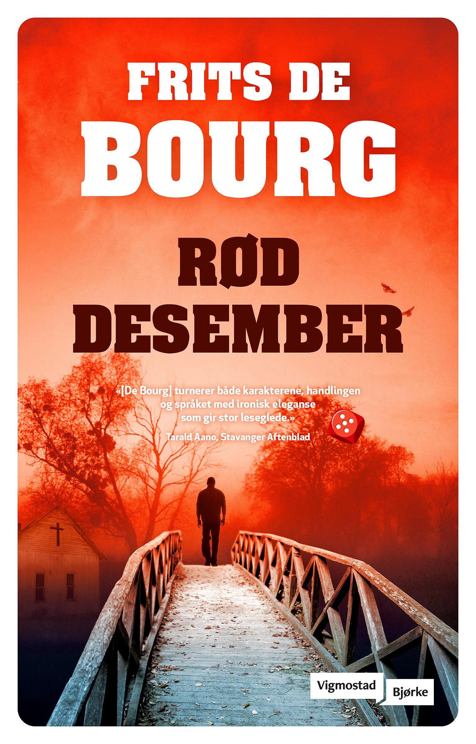 """""""Rød desember"""" av Frits De Bourg"""