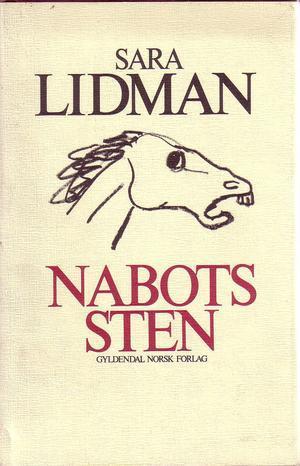 """Nabots sten"" av Sara Lidman"