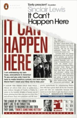 """It can't happen here"" av Sinclair Lewis"