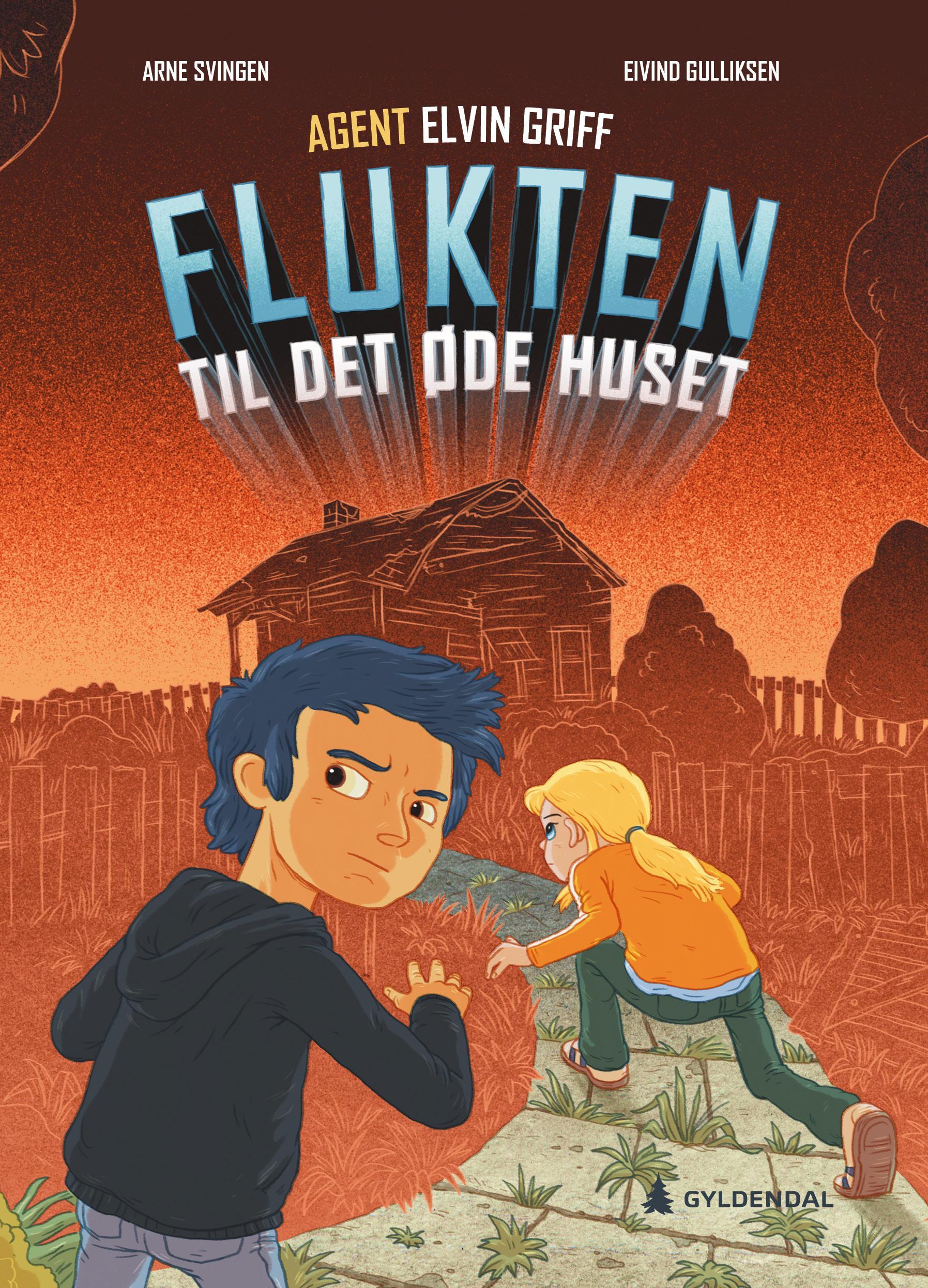 """""""Flukten til det øde huset"""" av Arne Svingen"""