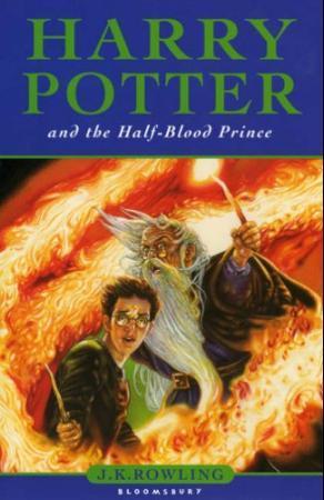 """Harry Potter and the half blood prince"" av J.K. Rowling"