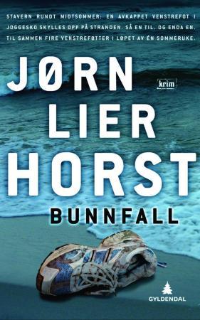 """""""Bunnfall - kriminalroman"""" av Jørn Lier Horst"""