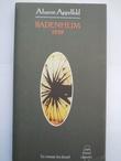 """""""Badenheim 1939"""" av Aharon Appelfeld"""
