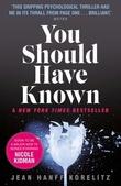 """You should have known"" av Jean Hanff Korelitz"