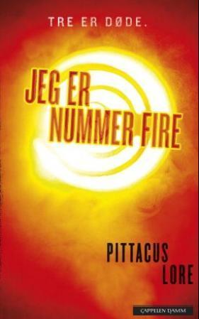 """""""Jeg er nummer fire"""" av Pittacus Lore"""