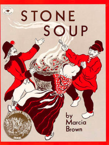 """Stone Soup"" av Marcia Brown"