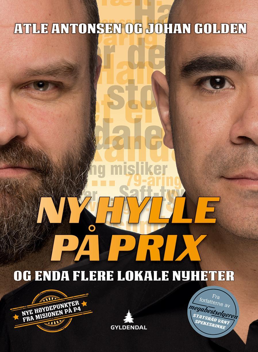 """""""Ny hylle på Prix - og enda flere lokale nyheter"""" av Atle Antonsen"""