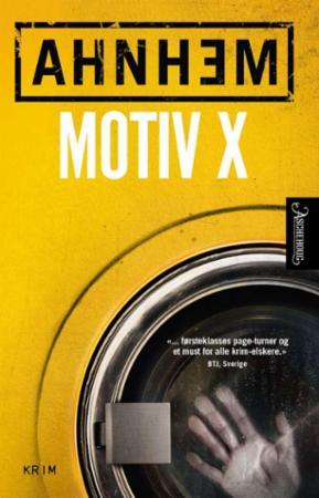 """Motiv X"" av Stefan Ahnhem"