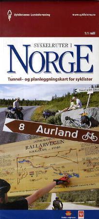 kart over sykkelruter i norge Sykkelruter i Norge   tunnel  og planleggingskart for syklister av