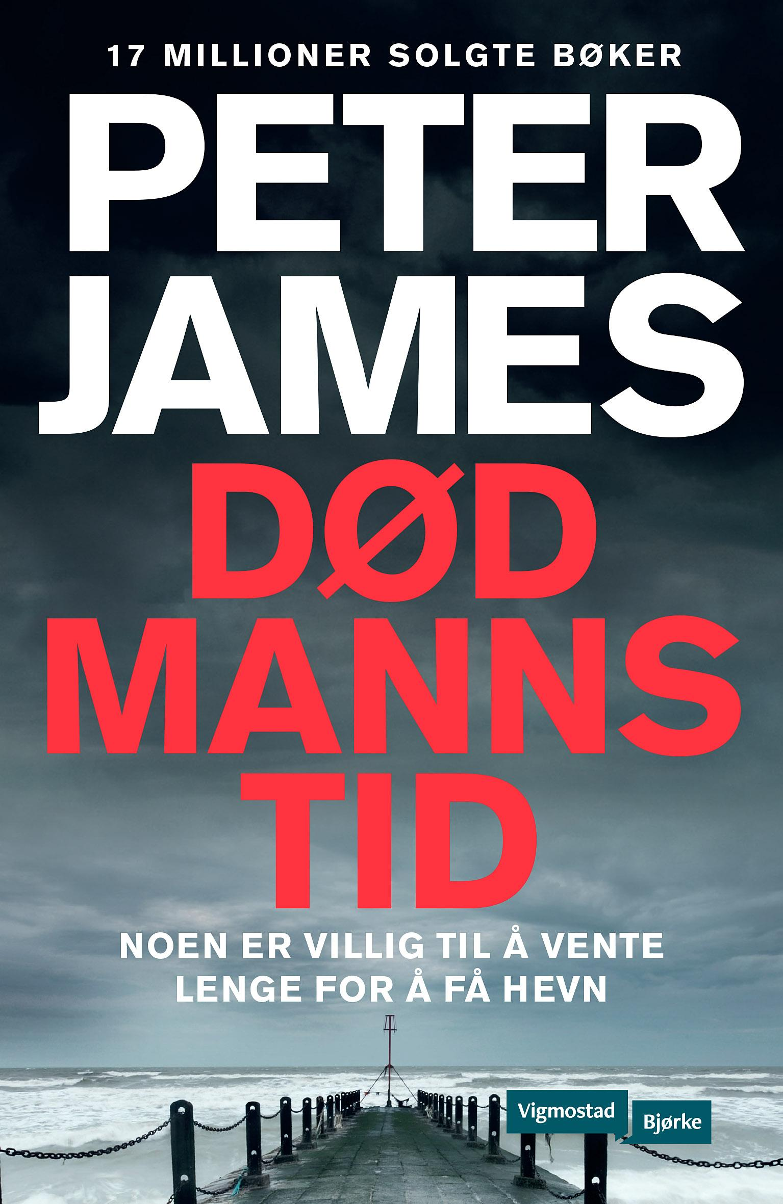 """""""Død manns tid"""" av Peter James"""