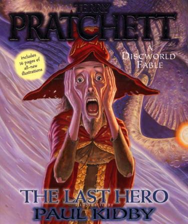 """""""The last hero - a discworld fable"""" av Terry Pratchett"""