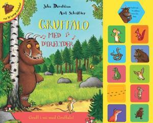 """""""Gruffalo - med dyrelyder"""" av Julia Donaldson"""