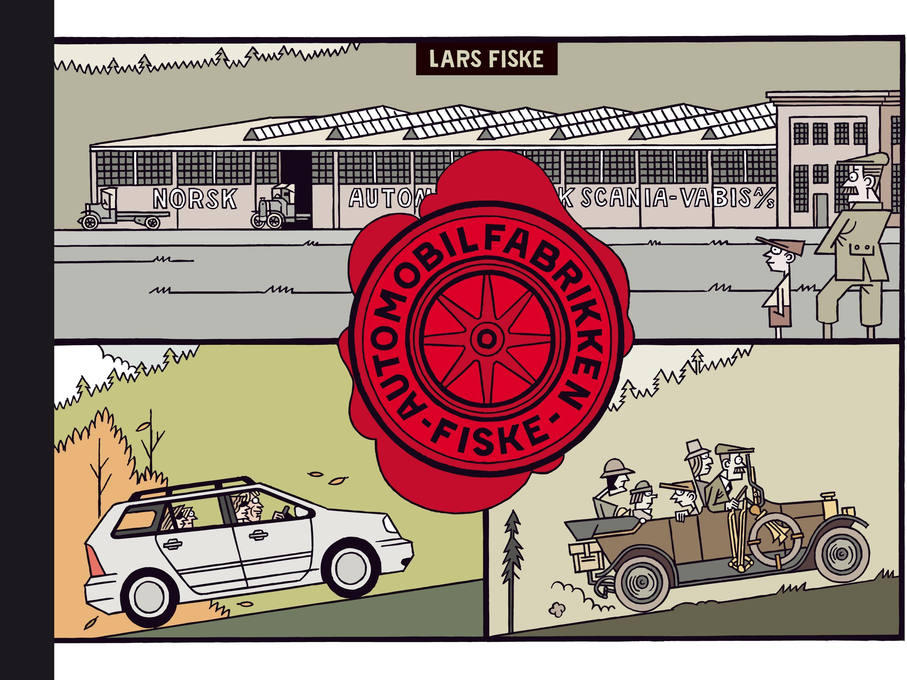 """Automobilfabrikken Fiske"" av Lars Fiske"