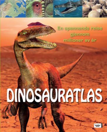 """""""Dinosauratlas"""" av John Malam"""
