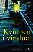 """""""Kvinnen i vinduet"""" av A.J. Finn"""