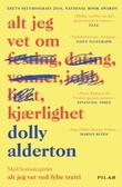 """""""Alt jeg vet om kjærlighet"""" av Dolly Alderton"""