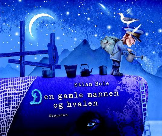 """""""Den gamle mannen og hvalen"""" av Stian Hole"""