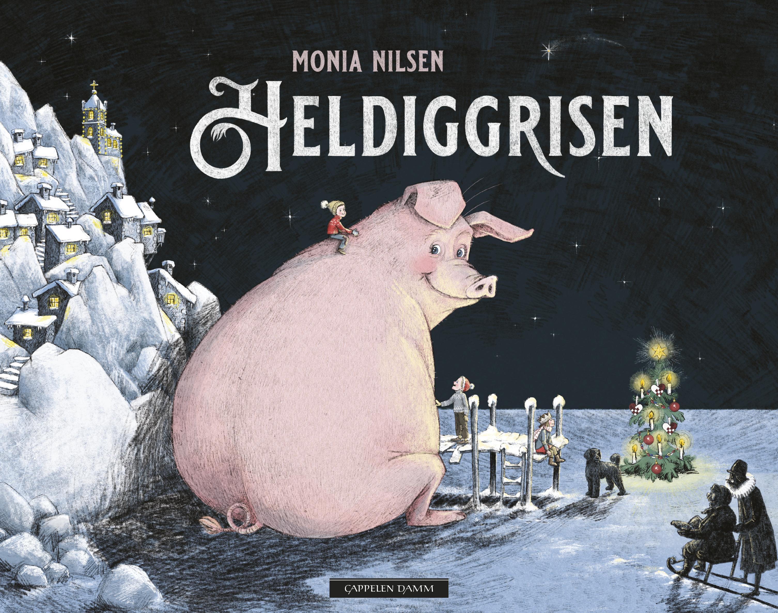 """Heldiggrisen"" av Monia Nilsen"