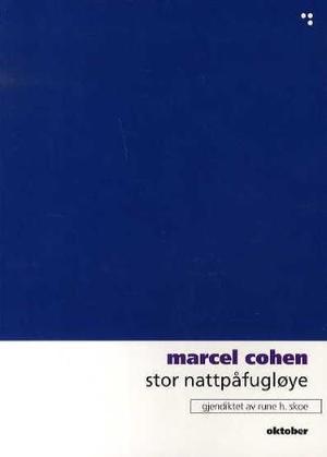 """""""Stor nattpåfugløye"""" av Marcel Cohen"""