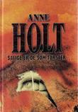 """""""Salige er de som tørster - roman"""" av Anne Holt"""
