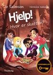 """""""Hjelp! - hvor er skatten?"""" av Jo Salmson"""