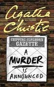"""A Murder is Announced - (Miss Marple)"" av Agatha Christie"