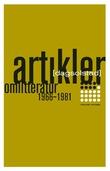 """""""Artikler om litteratur 1966-1981"""" av Dag Solstad"""