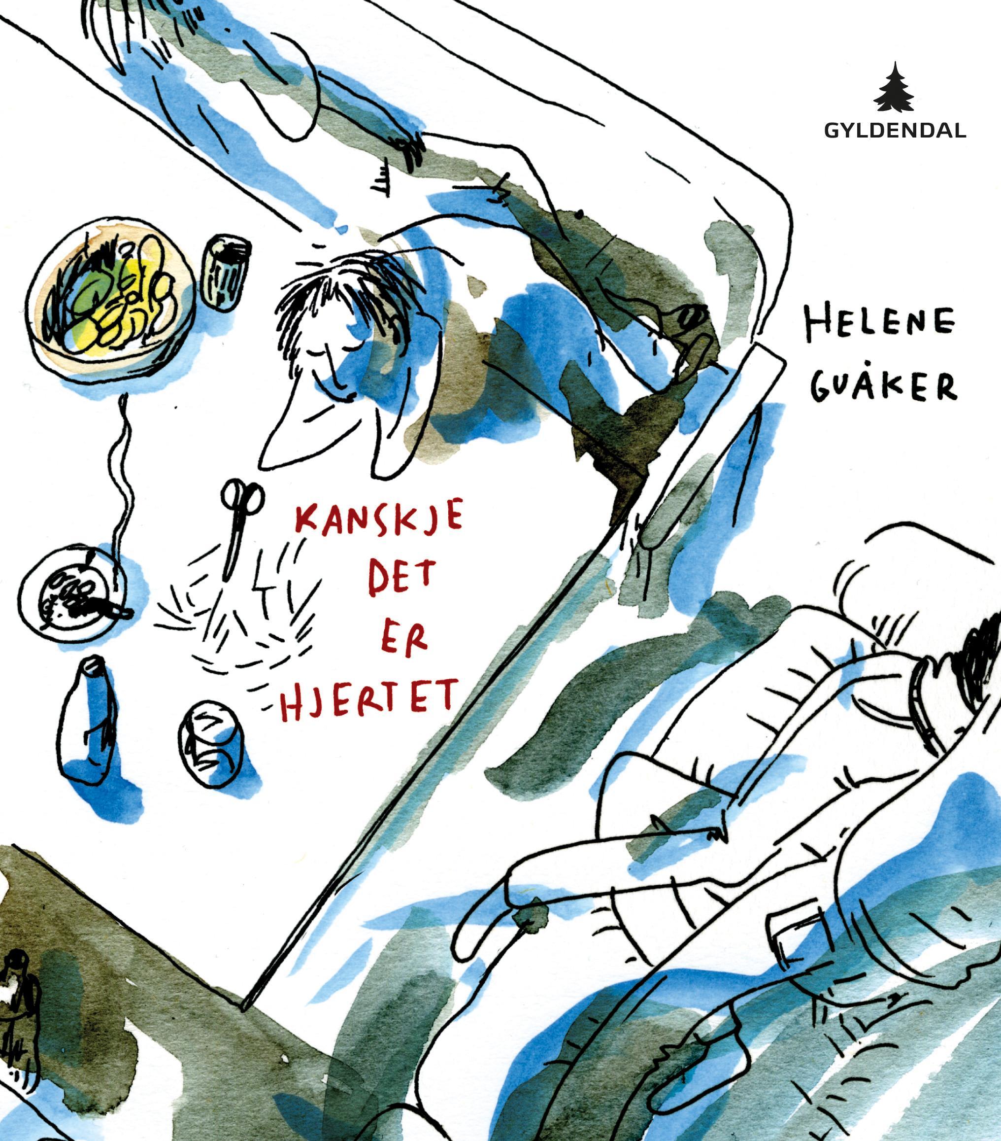"""""""Kanskje det er hjertet - dikt"""" av Helene Guåker"""