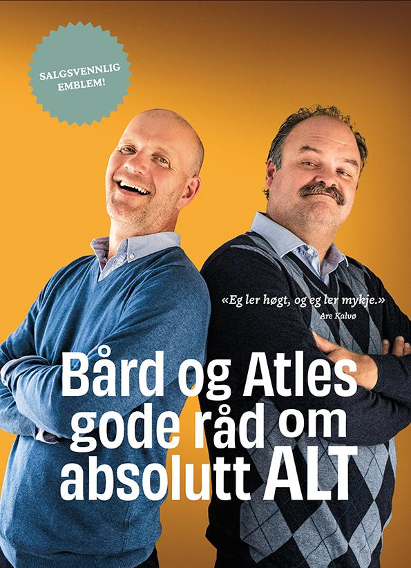 """""""Bård og Atles gode råd om absolutt alt"""" av Bjarte Arneson"""