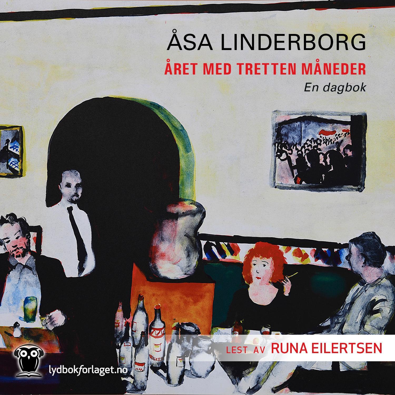 """Året med 13 måneder - en dagbok"" av Åsa Linderborg"