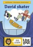 """""""David skater"""" av Arild Rossebø"""