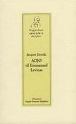 """""""Adjø til Emmanuel Levinas"""" av Jacques Derrida"""